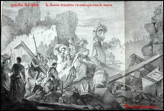 assedio di trieste 1463
